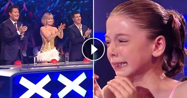 A feszültségtől idegösszeomlást kapott a színpadon. Pár perccel később mindenki tátott szájjal nézte – VIDEÓ