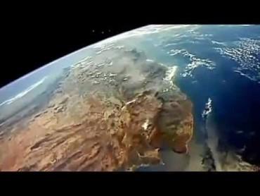 Csak most került nyilvánosságra ez a felvétel, amit a NASA egyik űrhajója rögzített.