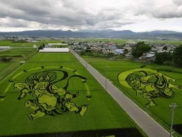 15 példa arra, hogy mennyire elképszető a Japán rizsföld művészet