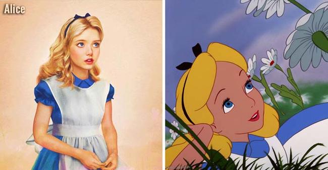 12 Disney hercegnő realisztikus stílusban ábrázolva