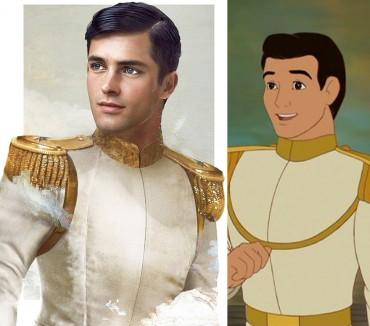 Így néznének ki a Disney hercegek a való életben