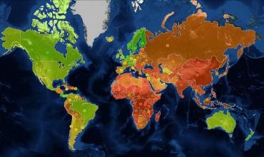 A 17 legelképszetőbb térkép, amit sose mutattak meg az iskolában
