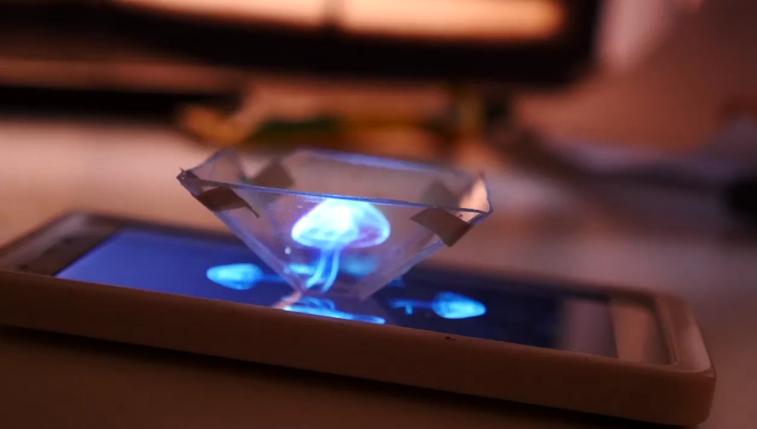 Hogyan készítsünk 3D holgoramokat az okostelefonunkkal