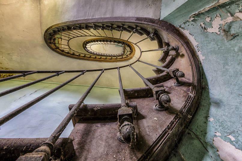 Elhagyatott lépcsőház