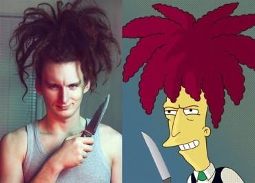 Gondolkoztál már rajta, hogy néznének ki a Simpson család szereplői a valóságban?