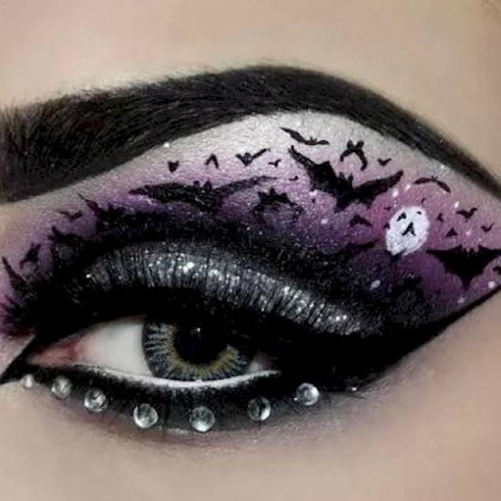 10 kísérteties smink ötlet Halloweenra