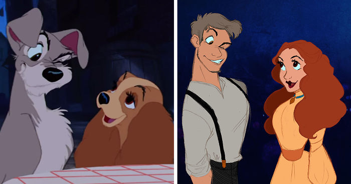 Így néznének ki a Disney állat karakterei emberként