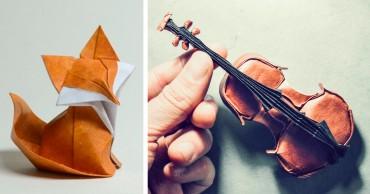 16 Megdöbbentő Origami mű az Origami művészet világ napja alkalmából