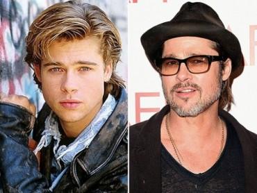 Így változott meg a világ 15 legnagyobb férfi színésze az idő múlásával