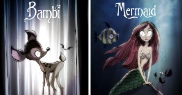 Disney mesék szereplői alternatív megvalósításban